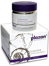 plazan skin care for men - after shave cream image