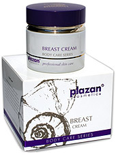 natural body care products - breast cream picture