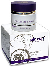 natural body care products - decolette cream picture