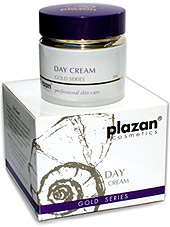 facial skincare products gold - day cream image