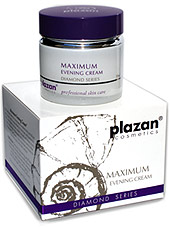 facial skincare products - maximum evening cream image