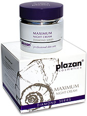 facial skin care products - maximum night cream image