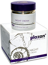 facial skincare products - night cream image
